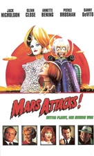 Mars Attacks! - German Movie Cover (xs thumbnail)