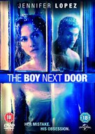 The Boy Next Door - British DVD movie cover (xs thumbnail)