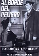 Where the Sidewalk Ends - Spanish DVD movie cover (xs thumbnail)