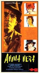 Anima nera - Italian Movie Poster (xs thumbnail)