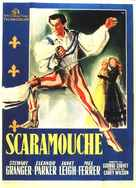 Scaramouche - Italian Movie Poster (xs thumbnail)