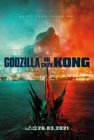 Godzilla vs. Kong - Vietnamese Movie Poster (xs thumbnail)