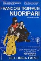Domicile conjugal - Finnish Movie Poster (xs thumbnail)