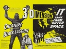 Creature from the Black Lagoon - British Combo movie poster (xs thumbnail)