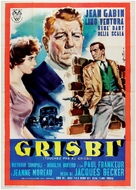 Touchez pas au grisbi - Italian Movie Poster (xs thumbnail)