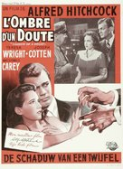 Shadow of a Doubt - Belgian Movie Poster (xs thumbnail)