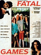 Heathers - French Movie Poster (xs thumbnail)