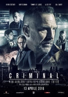 Criminal - Italian Movie Poster (xs thumbnail)