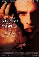 Interview With The Vampire - Spanish Movie Poster (xs thumbnail)