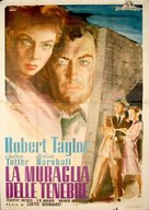 High Wall - Italian Movie Poster (xs thumbnail)