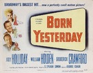 Born Yesterday - British Movie Poster (xs thumbnail)