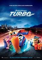 Turbo - Finnish Movie Poster (xs thumbnail)