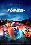 Turbo - Finnish Movie Poster (xs thumbnail)