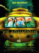 The Life Aquatic with Steve Zissou - French Movie Poster (xs thumbnail)