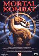 Mortal Kombat - Dutch DVD cover (xs thumbnail)