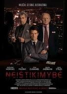 Misconduct - Lithuanian Movie Poster (xs thumbnail)