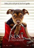 A Dog's Way Home - Latvian Movie Poster (xs thumbnail)