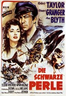 All the Brothers Were Valiant - German Movie Poster (xs thumbnail)