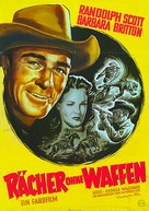 Gunfighters - German Movie Poster (xs thumbnail)