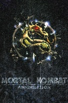 Mortal Kombat: Annihilation - French VHS cover (xs thumbnail)