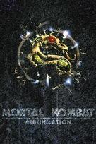 Mortal Kombat: Annihilation - French VHS movie cover (xs thumbnail)