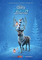 Olaf's Frozen Adventure - Indian Movie Poster (xs thumbnail)