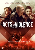 Acts of Violence - Norwegian DVD movie cover (xs thumbnail)