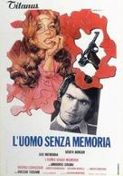 L'uomo senza memoria - Italian Movie Poster (xs thumbnail)