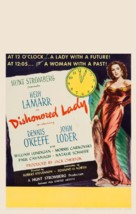 Dishonored Lady - Movie Poster (xs thumbnail)