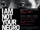 I Am Not Your Negro - British Movie Poster (xs thumbnail)