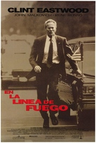 In The Line Of Fire - Spanish Movie Poster (xs thumbnail)