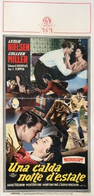 Hot Summer Night - Italian Movie Poster (xs thumbnail)