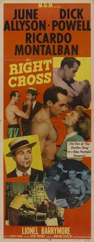 Right Cross - Movie Poster (xs thumbnail)