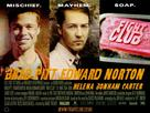 Fight Club - British Movie Poster (xs thumbnail)
