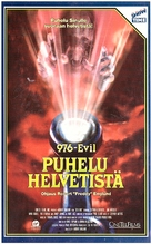 976-EVIL - Finnish VHS movie cover (xs thumbnail)