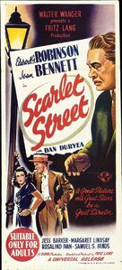 Scarlet Street - Australian Movie Poster (xs thumbnail)