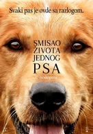 A Dog's Purpose - Serbian Movie Poster (xs thumbnail)