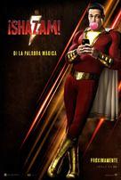 Shazam! - Argentinian Movie Poster (xs thumbnail)