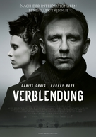 The Girl with the Dragon Tattoo - German Movie Poster (xs thumbnail)