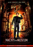 Night at the Museum - German Movie Poster (xs thumbnail)