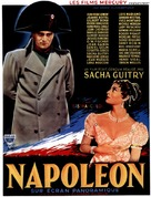 Napoléon - French Movie Poster (xs thumbnail)