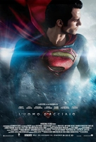 Man of Steel - Italian Movie Poster (xs thumbnail)