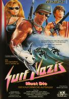 Surf Nazis Must Die - German DVD movie cover (xs thumbnail)