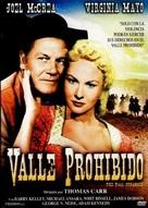 The Tall Stranger - Spanish DVD cover (xs thumbnail)