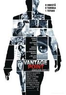 Vantage Point - Finnish Movie Poster (xs thumbnail)