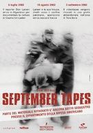 September Tapes - Italian poster (xs thumbnail)