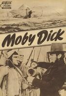 Moby Dick - German poster (xs thumbnail)