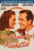 Miracle on 34th Street - German Movie Poster (xs thumbnail)