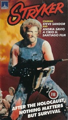 Stryker - British VHS movie cover (xs thumbnail)