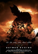 Batman Begins - Brazilian Movie Poster (xs thumbnail)